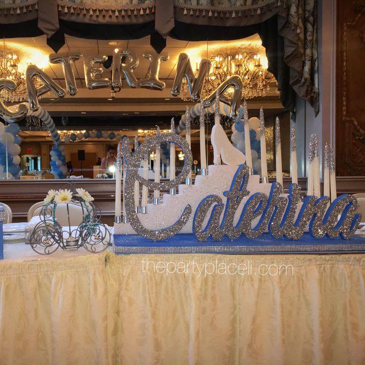 Cinderella Theme Sweet 16!