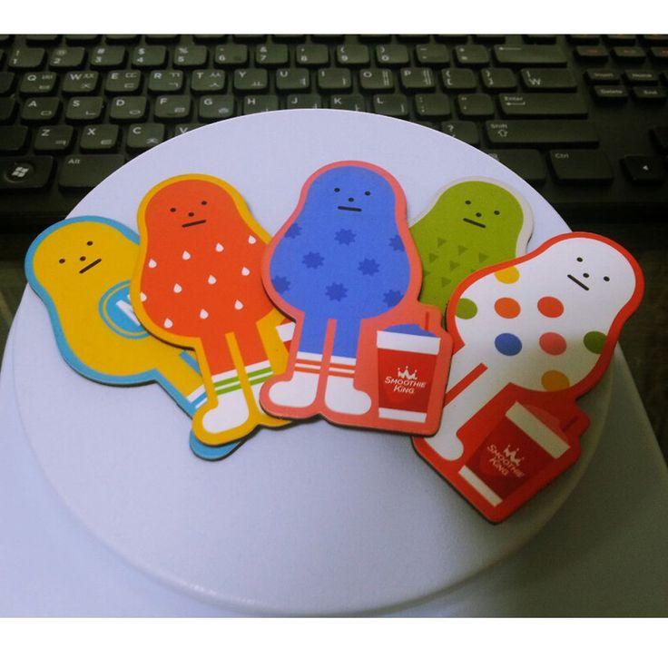 Sticky Monster Lab Smoothie Heros Refrigerator Magnet Set