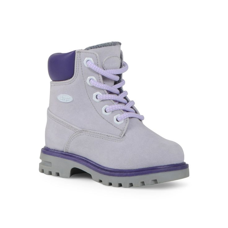 Lugz Empire Hi Toddler Girls' Water-Resistant Boots, Girl's, Size: 5 T, Drk Purple, Durable
