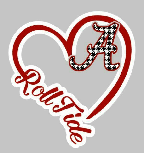 I Love My Alabama Crimson Tide!