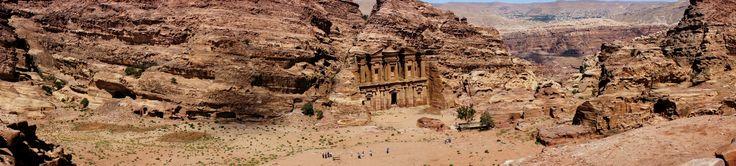 Jordania الأردن Petra البترا Monastyr Ad Deir