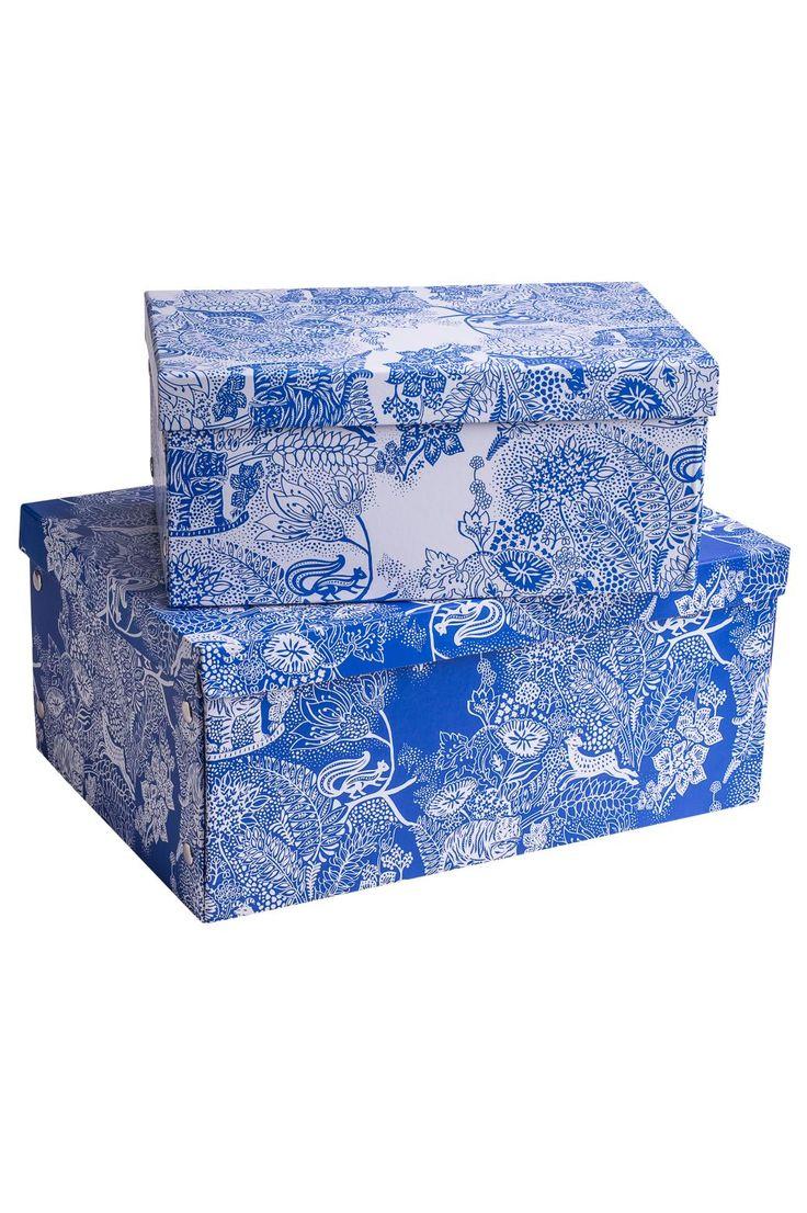 SUNDERBANS BOX S förvaringslåda vit | Storage | null | Hall & Förvaring | Home | INDISKA Shop Online
