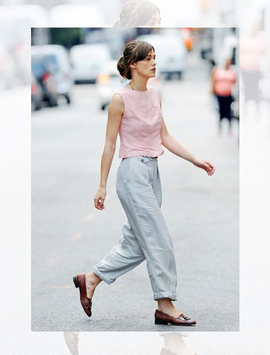 Keira Knightly - Begin Again Pleaseee don't do this anymore to her. Don't dress her like that again. She's different from other actresses that's why i like her so much and here you've made her same as others.