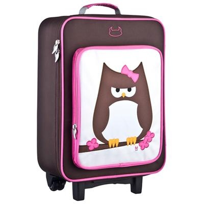 Owl Suitcase by Beatrix New York ~ Banditten.com
