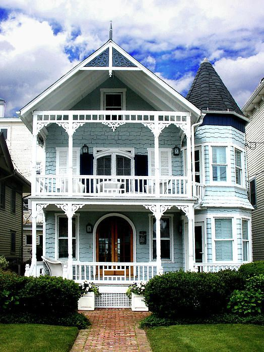 blue Victorian
