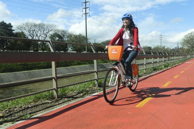 Agora tem aluguel de bicicletas em Porto Alegre!