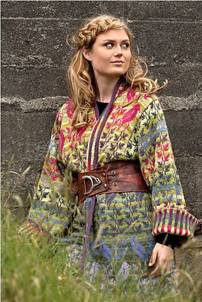Bird Jacket pattern by Christel Seyfarth This is probably the most beautiful DIY jacket ever!!
