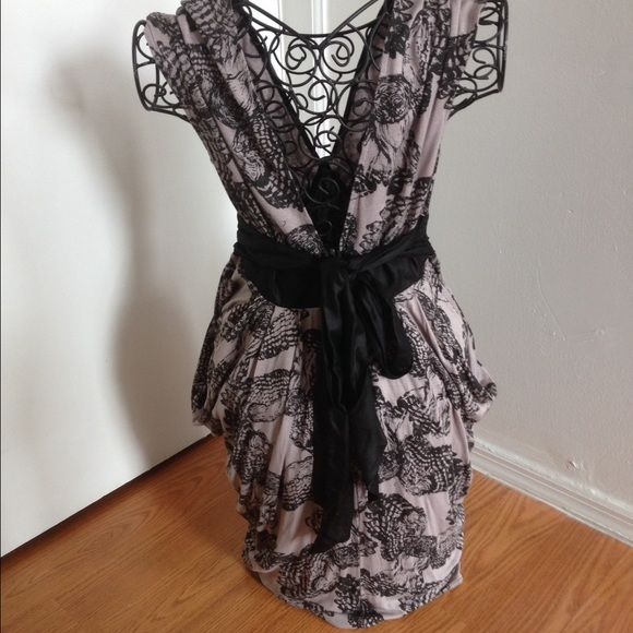 LIP SERVICE Widow dress #56-384