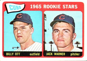 354 - Cubs Rookies - Billy Ott - Jack Warner RC