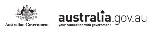 Australian Government Coat of Arms and australia.gov.au - Your Connection With Government- Print Version