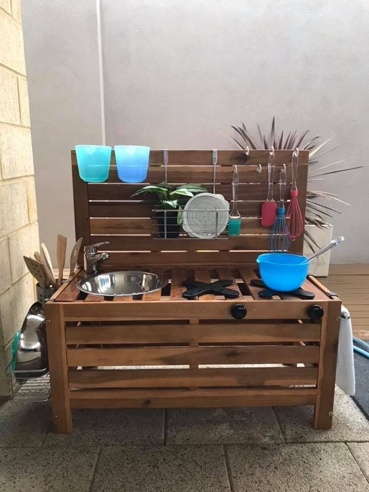 kmart kitchen italian cabinets mud hack diy play stations in 2019 pinterest