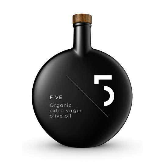 Celestial Circular Bottles : 5 Olive Oil Packaging