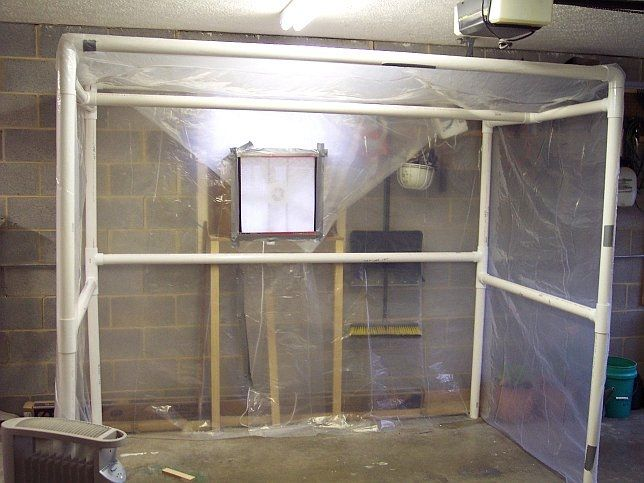 Garage Portable Paint Booth : Pvc spray booth http images rcuniverse forum upfiles