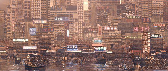 Înregistrarea alăturată face parte din seria Noul oraş (New city) ca şi Păstrarea aparenţelor şi Edgelands, ele prezintă un profil animat urban al unui posibil viitor apropiat şi descrie un tipar de urbanism într-un mod foarte detaliat, o versiune exagerată a prezentului, în care putem proiecta tendinţe culturale, forţe de mediu, politice şi economice. Autorul implicat în acest episod este Pat Cadigan, sunetele originale ale Oraşului nou au fost realizate de Coldcut, iar sunetele ...