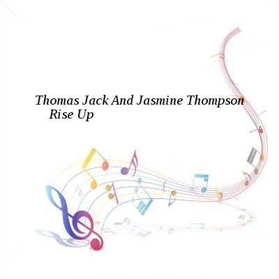 Thomas Jack And Jasmine Thompson-Rise Up-WEB-2016-UKHx