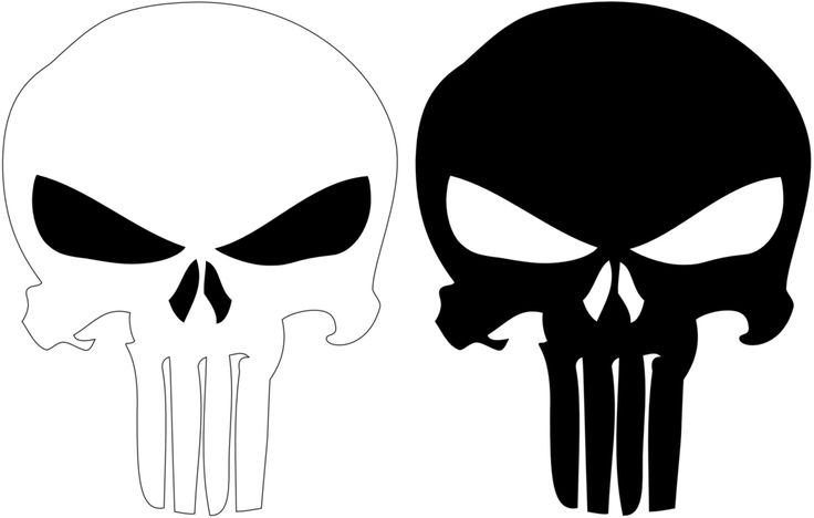 logo de punisherjustieiro