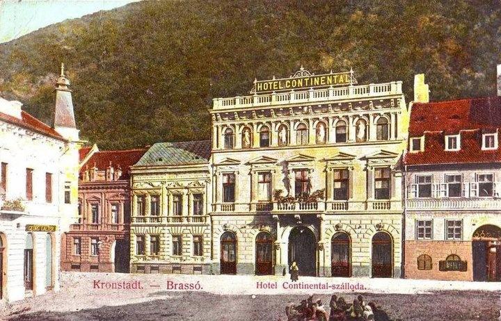BRASOV - HOTEL CONTINENTAL - 1911