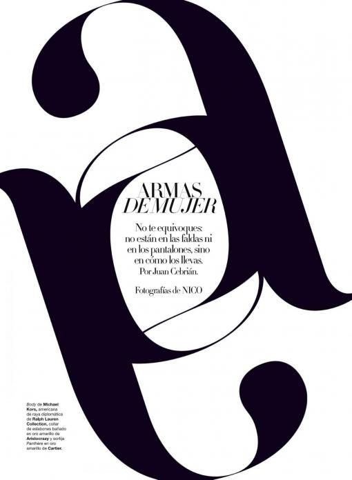 Typography - very clever use of the negative space
