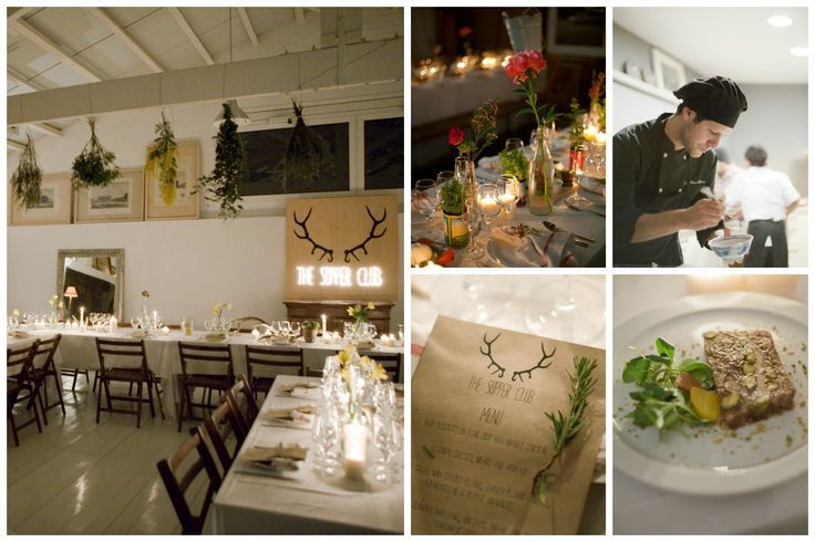 Restaurantes pop-up, experiencias culinarias insólitas: The Supper Club