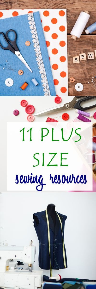 plus size sewing | sewing tips | things to sew | plus size patterns