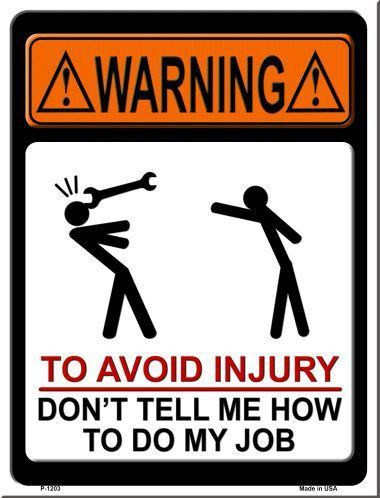 """If you get offended easily just pass this section and move on elsewhere. We love adult humor! 9"""" x 12"""" High gloss metal parking sign. Made of the highest quality aluminum for a weather resistant finis"""