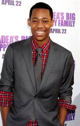 Tyler James Williams, actor and rapper.