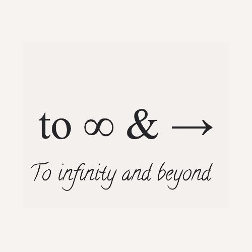 Infinity Love Quotes: I Love You Times Infinity And Beyond Quotes. QuotesGram