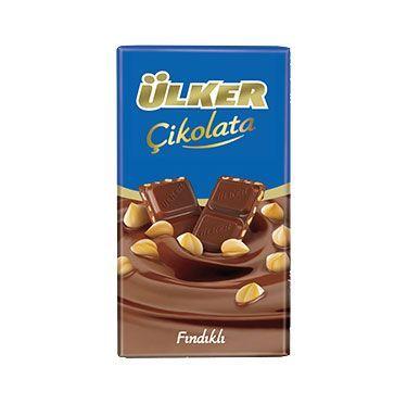 Ülker Fındıklı Tablet Çikolata 80 Gr
