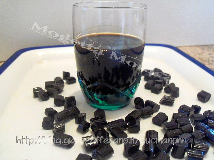 Liquore alla liquirizia,ricetta fatta in casa