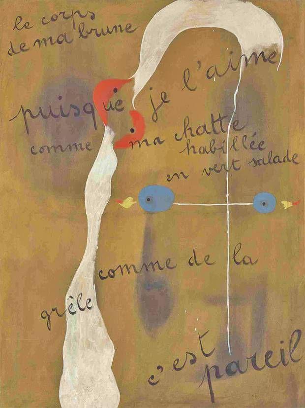 Painting Poem, Joan Miro, $ 23.8 million