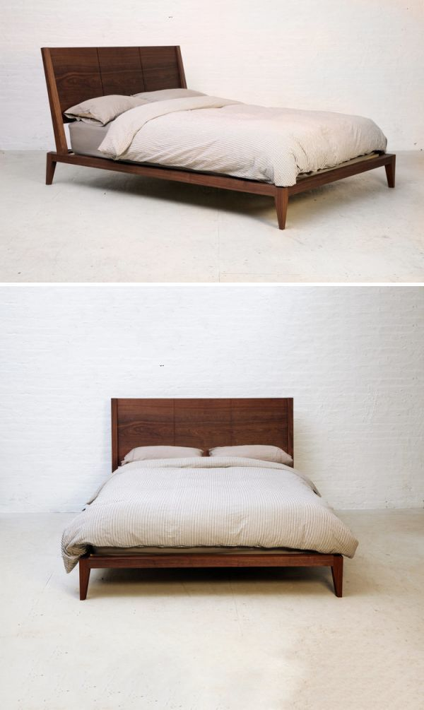 Beds Accessories Bedframe No 4 Bed Frame Bed Handcrafted Bed