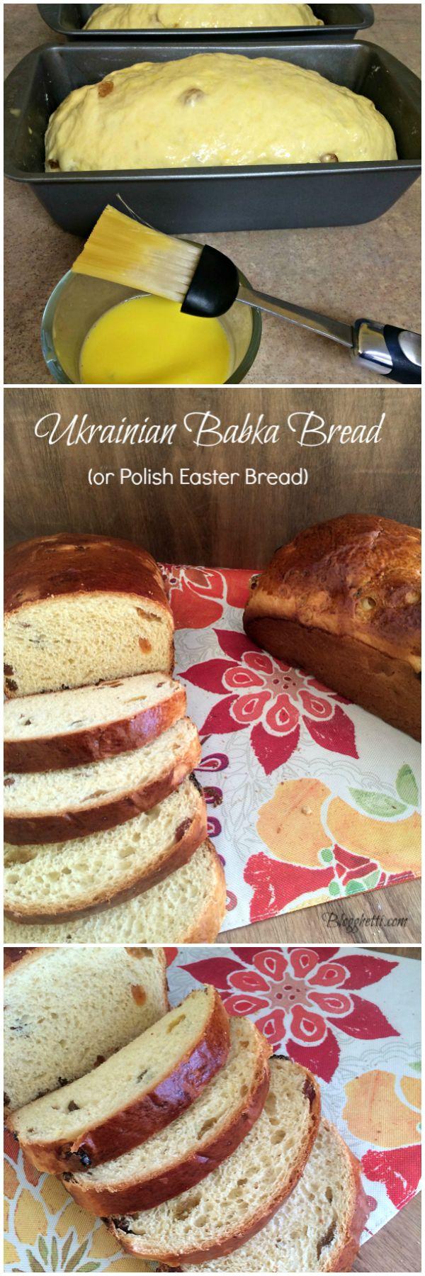 Ukrainian Babka Bread