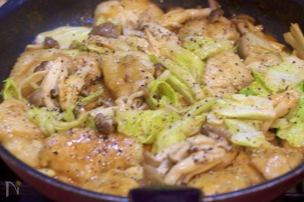 重ねて時短♪男子も喜ぶ♪『鶏むね肉とキャベツのオーロラ炒め』 by Yuu   レシピサイト「Nadia   ナディア」プロの料理を無料で検索