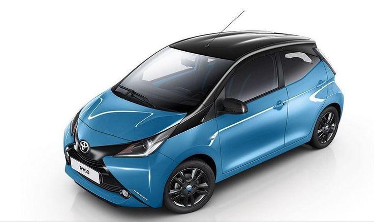 Toyota Aygo X-Cite, traje especial en azul y negro - http://www.actualidadmotor.com/toyota-aygo-x-cite-edicion-especial-azul-negro/