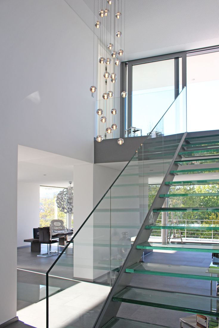 Glastreppe – Weber und Partner