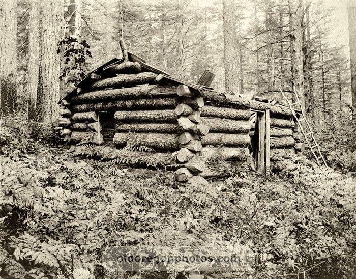 An Old Hunting Cabin Near Mt Hood Indahl My ꭷreɠ໐n Pasʈ And