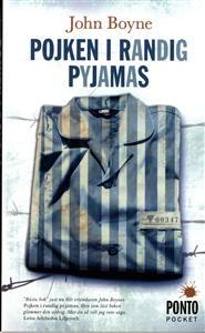 http://www.adlibris.com/se/product.aspx?isbn=9174750143 | Titel: Pojken i randig pyjamas : en sorts saga - Författare: John Boyne - ISBN: 9174750143 - Pris: 44 kr