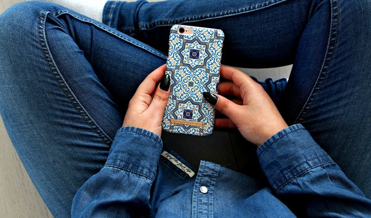 Marrakech by lovely @rebeckakärrbring - Fashion case phone cases iphone inspiration iDeal of Sweden #Mosaic #blue  #fashion #inspo #iphone #pattern #tile #summer #moroccan