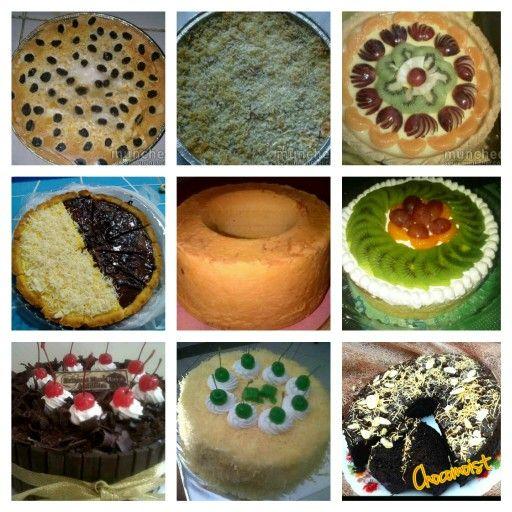 Open order buat lebaran yah #klaapertart #makaronischotel #fruitpie #mixpie #bluder #cheddarcheese #blackforest #cheesecake #chocomoist #redvelvet #oreocheesecake #dapurbunda #makassar #instafood #foodporn