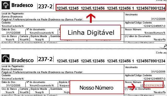 Atualizar Boleto Bradesco Linha Digitavel Bradesco Aplicativos