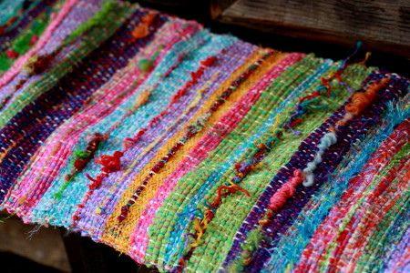 Sakiori (rag weaving)