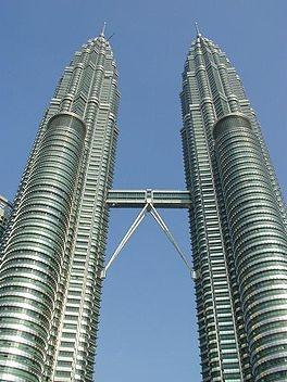 Petronas Towers - Kuala Lumpur - Maleisie