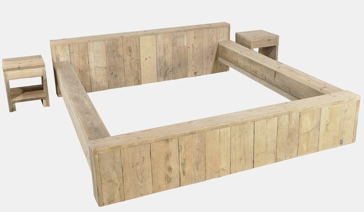 ... steigerhout op Pinterest - Stencils, Schuurdeuren en Hergebruikt hout