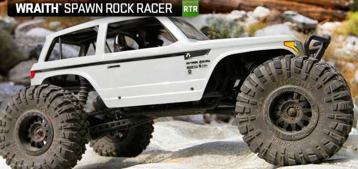 AX90045 - Axial Wraith Spawn 1:10th 4WD RTR