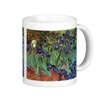 Van Gogh Irises, Vintage Post Impressionism Art Mugs