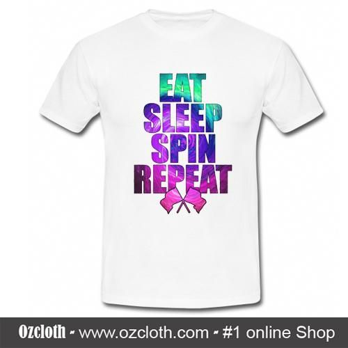 Eat Sleep Spin Repeat T-Shirt