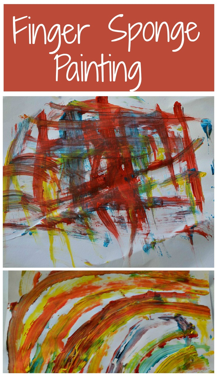 Open ended art project for toddlers and preschoolers