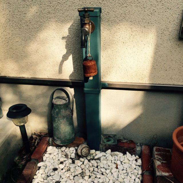 DIY/ダサい既存の立水栓が変身!…などのインテリア実例 - 2015-07-23 02:38:02
