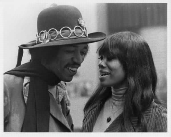 The Identity Of Jimi Hendrix's Foxy Lady Revealed - Neatorama