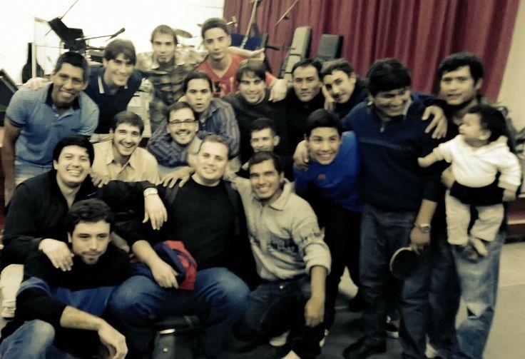 Solo los chicos! @Lucas Berazadi